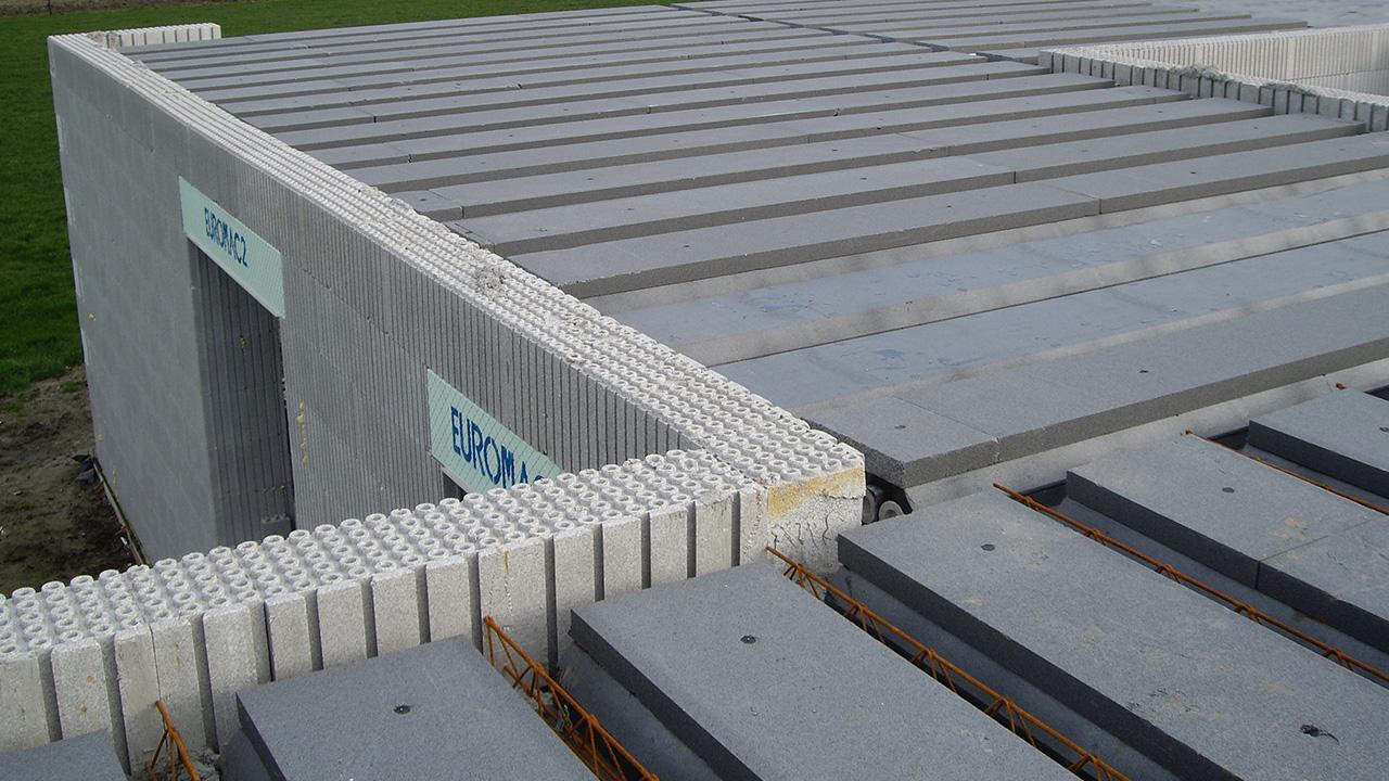 Robuuste betonconstructie