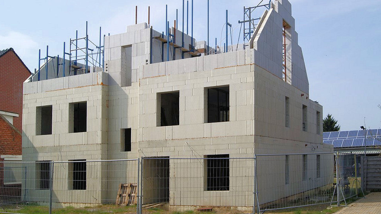 Geen bouwkraan nodig