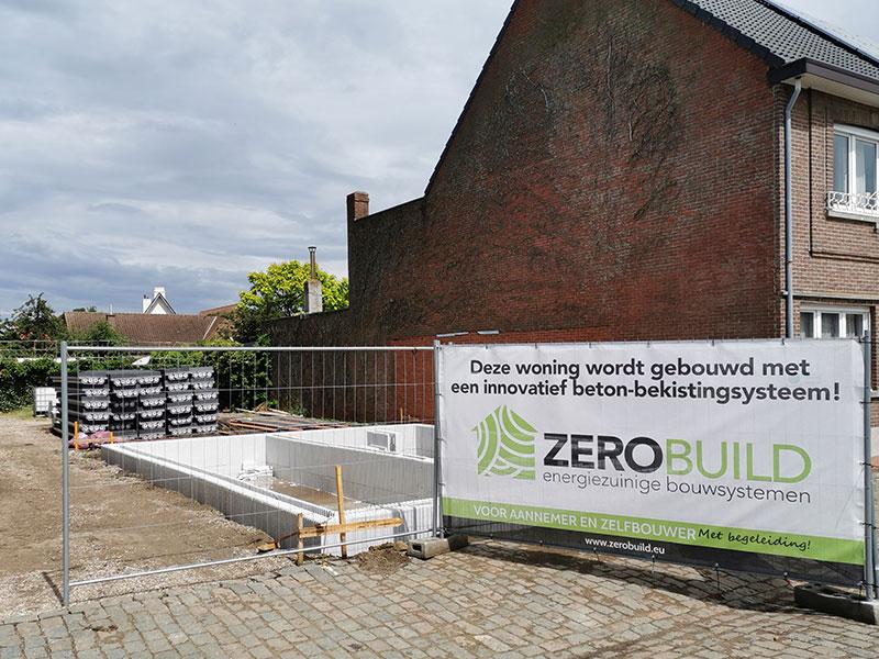 ZeroBuild Kijkwoning. Ontdek ons unieke Euromac2 ruwbouwsysteem van vloer-, wand- en dak elementen met eigen ogen.