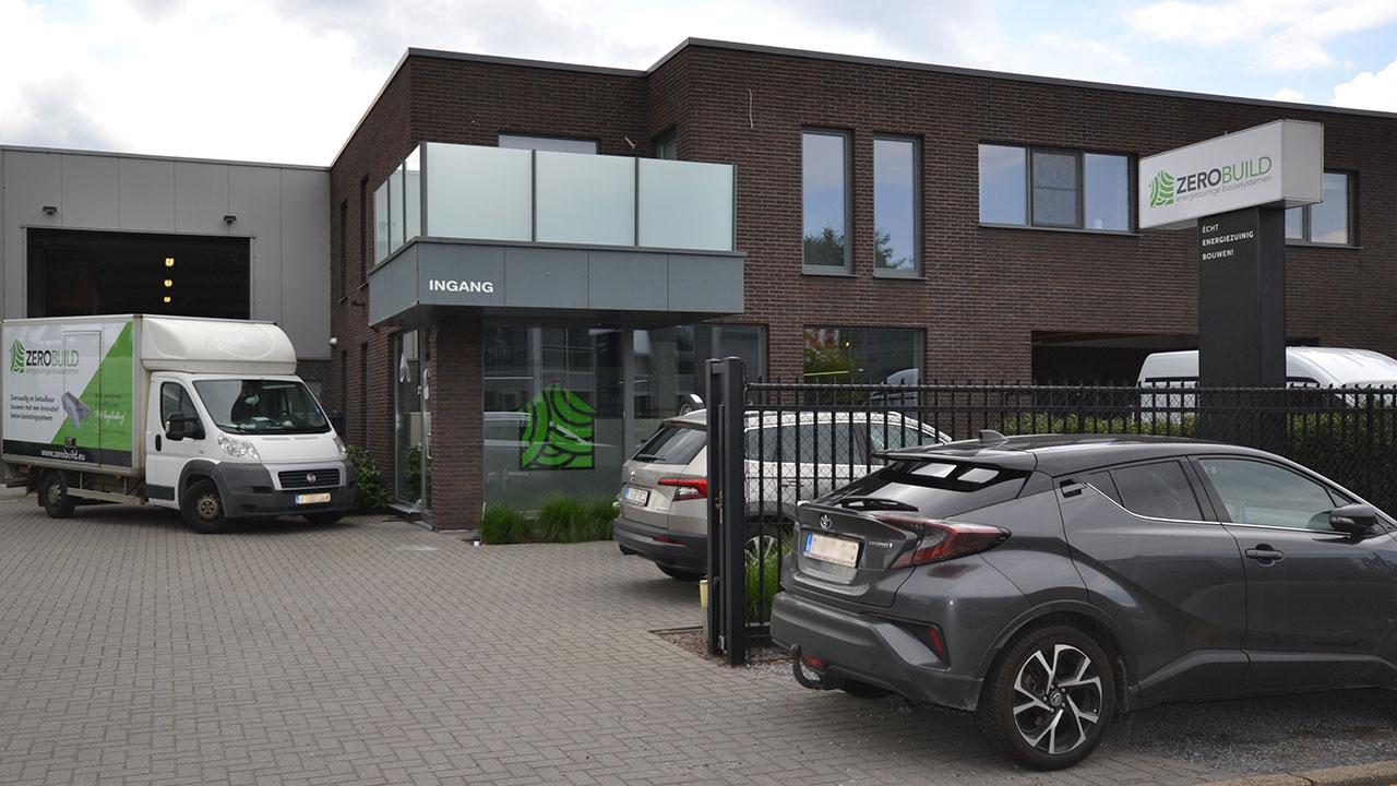 Zerobuild kantoor te Overpelt