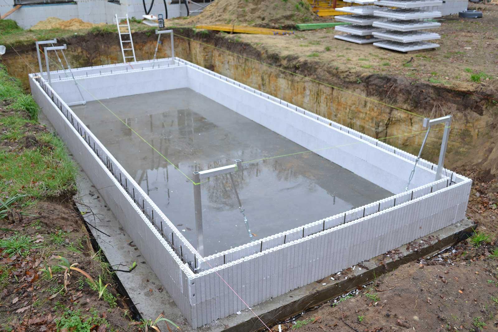 Bouw zelf je zwembad met Euromac2 zwembad elementen